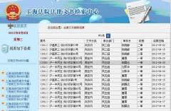 上海法院普通検索結果一覧