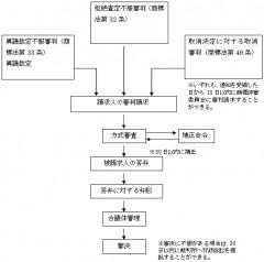 中国商標審判フロー