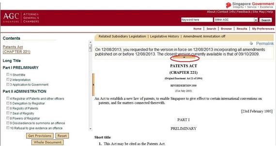 AGC特許法のサイト