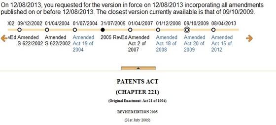 特許法改正の履歴